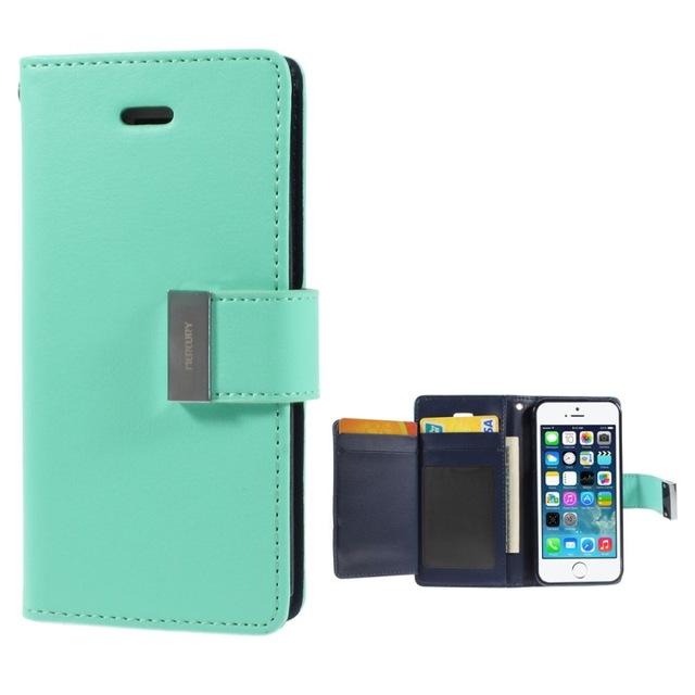 various colors 1670e d3989 Mercury-Rich Diary wallet case for iPhone 7 Plus